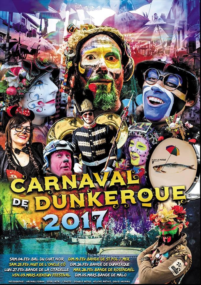 affiche alternatif de Dunkekerque 2017