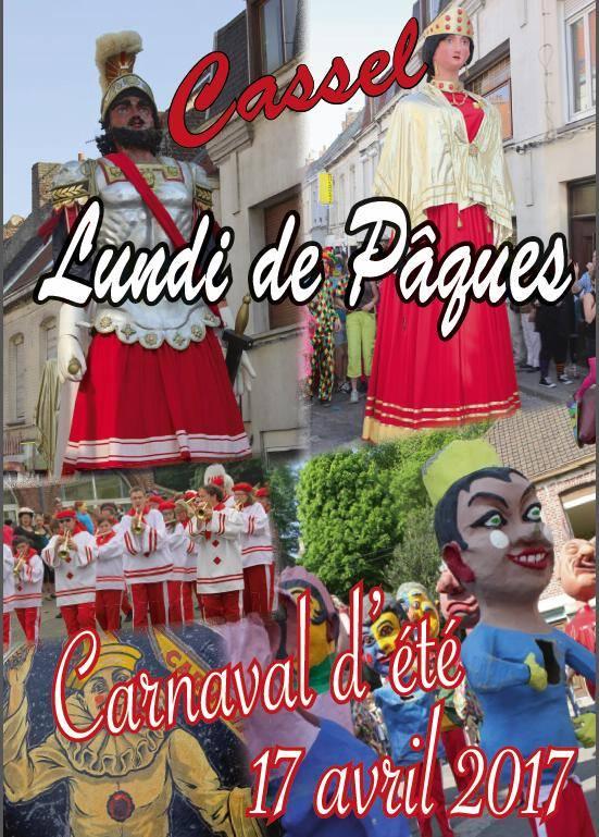 CARNAVAL - Lundi 17 avril 2017  Carnaval Dété  de Cassel  Ccarnaval-de-cassel-2017-ete-17-avril-2017