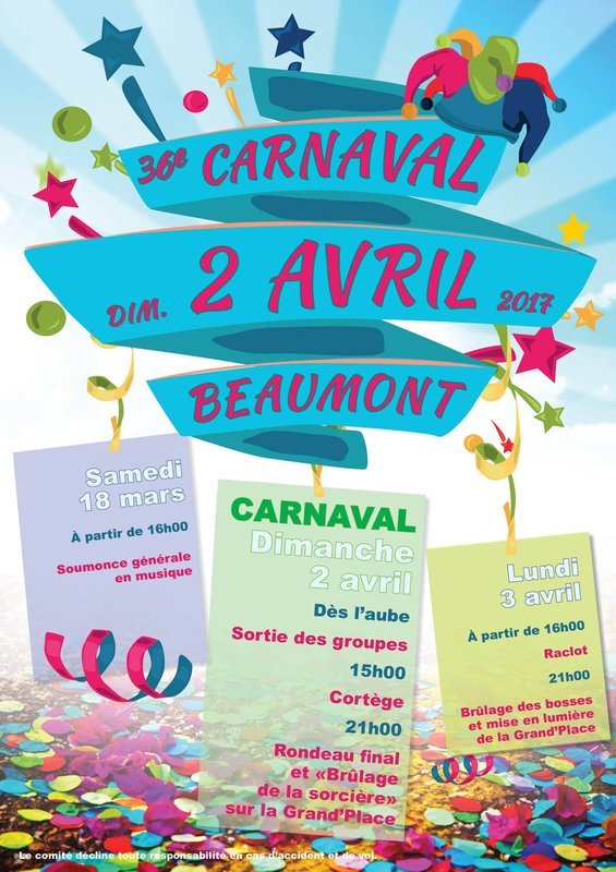 2017 - CARNAVA DE BEAUMONT 02 AVRIL 2017  Carnaval-2017-de-beaumont-belgique-manur